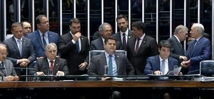 Senado aprova texto base da Reforma da Previdência