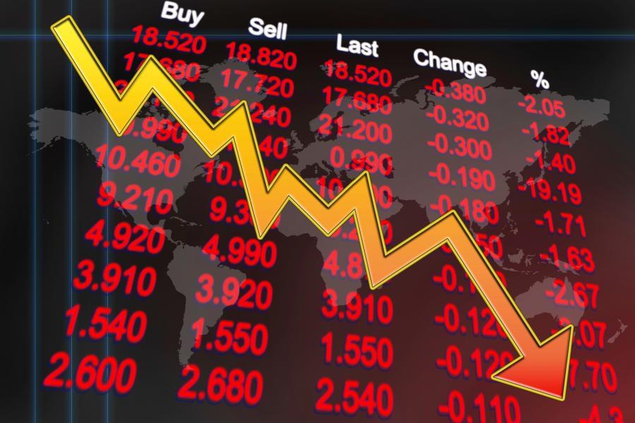 Ibovespa despenca com notícias corporativas e cena político fiscal do radar