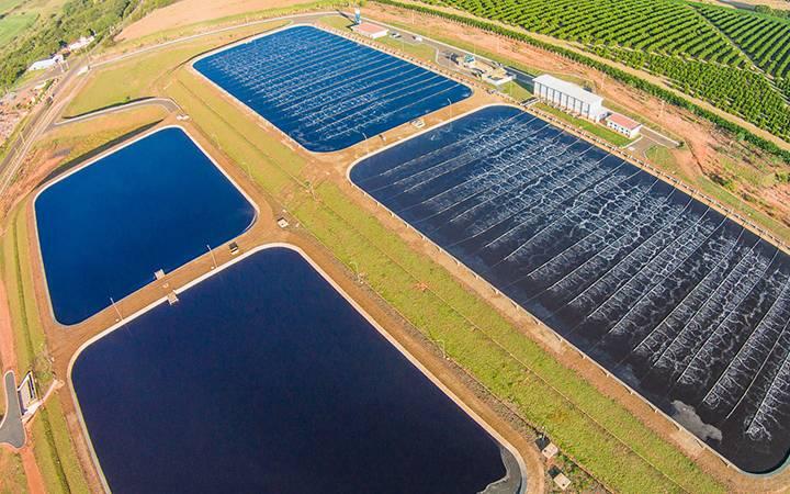 Aprovação do marco de saneamento básico; As ações da Sabesp, Sanepar e Copasa caem