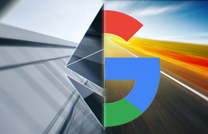 Ethereum muito disputado: Buscas pela criptomoeda no Google estão em seu nível mais alto