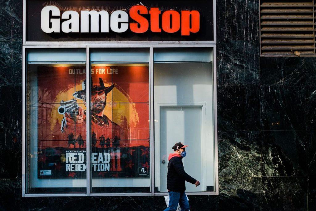 GameStop dispara após tuíte intrigante sobre sorvete