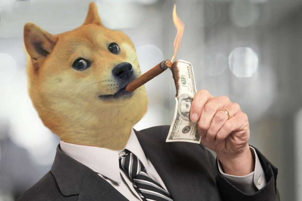Dogecoin e seus clones sugam fundos do bitcoin