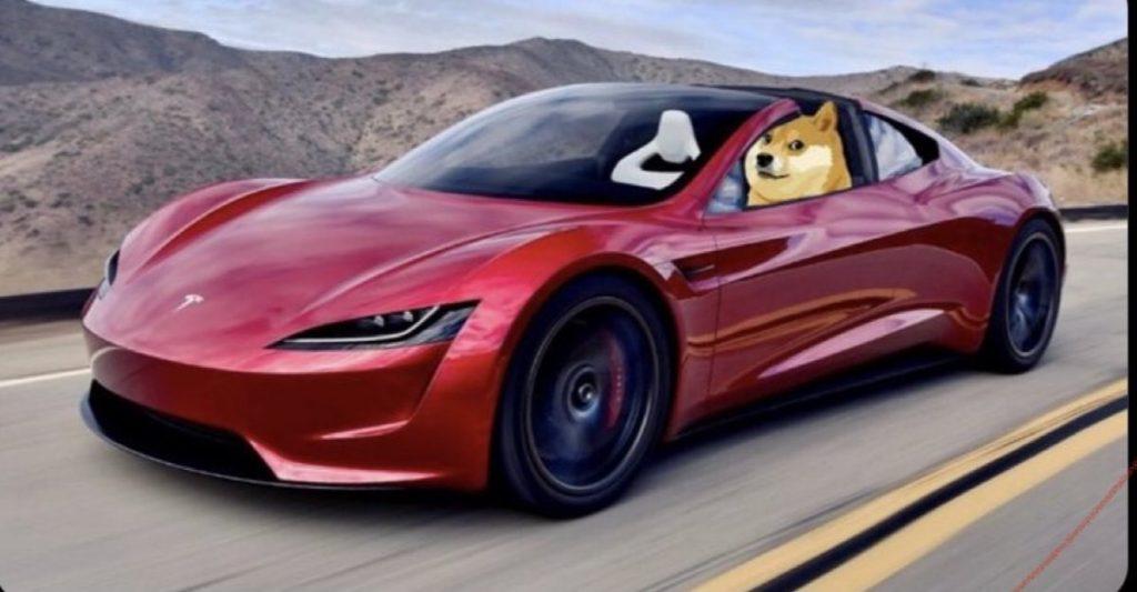 Tesla considera aceitar Dogecoin como opção de pagamento