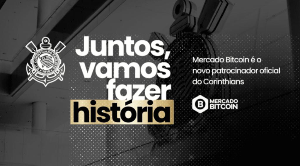 Corinthians anuncia patrocínio com a Mercado Bitcoin até o fim de 2022